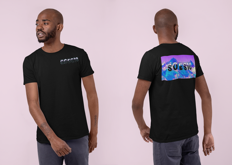 Soesic ICE men's short sleeve t shirt-Soesic Gaming