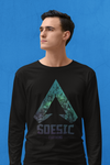 'Galaxy Legends' Apex Legends Inspired men's long sleeve gamer t shirt-Soesic Gaming