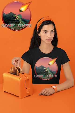 'Game Over' Women's Short Sleeve Gamer T Shirt-Soesic Gaming