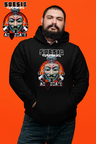 Adv0cate Hoodie ~ Adv0cate as a Featured Streamer for Soesic Gaming-Soesic Gaming