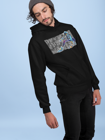 Overwatch Graffiti Tracer Inspired Gamer Hoodie-Soesic Gaming