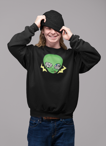 Soesic Alien Crewneck Sweatshirt-Soesic Gaming