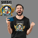 BUTTERMILK Men's Short Sleeve T Shirt ~ BUTTERMILK as a Featured Streamer for Soesic Gaming-Soesic Gaming
