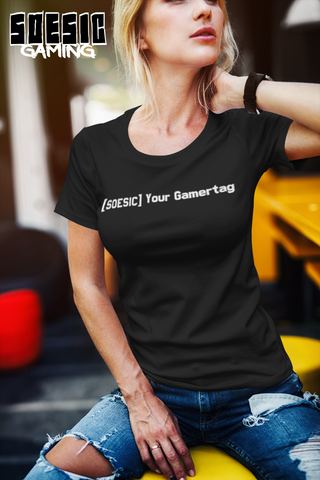 Soesic Clan Customizable Women's Short Sleeve Gamer T Shirt-Soesic Gaming