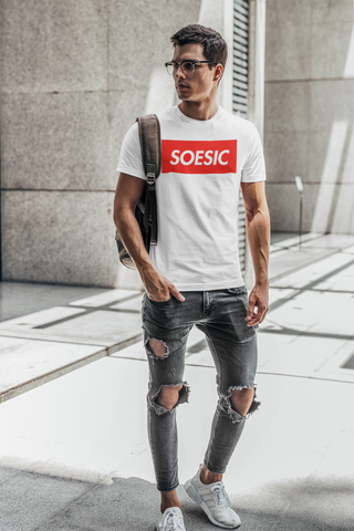 'Soesic Stop' Men's Short Sleeve T Shirt-Soesic Gaming