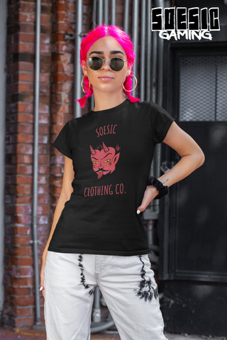 Soesic Devil Boii Women's Short Sleeve T Shirt-Soesic Gaming