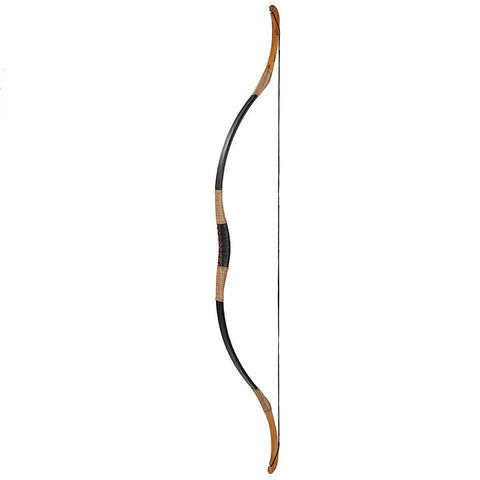 Traditional Chinese Black Leather Longbow-free shipping