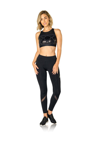 AVIATRIX CHEETAH HI-NECK CROP
