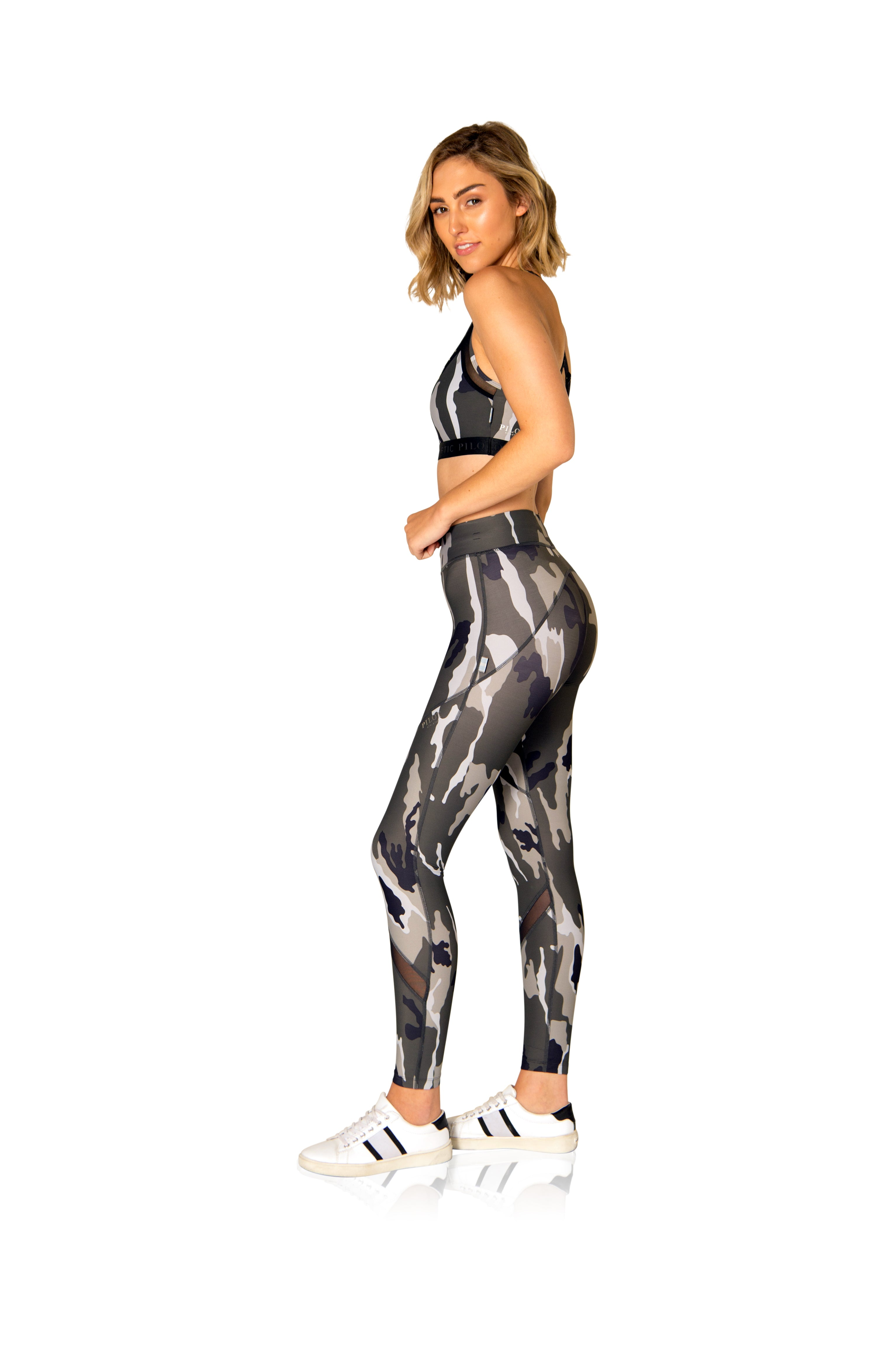 FINN CAMO FULL-LENGTH MESH TIGHT