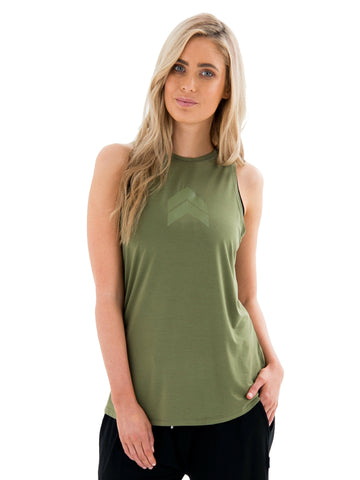EMILY BASIC TEE  - GREY MARLE
