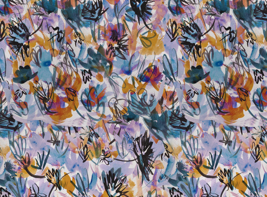 Abstract Flowers by Yard