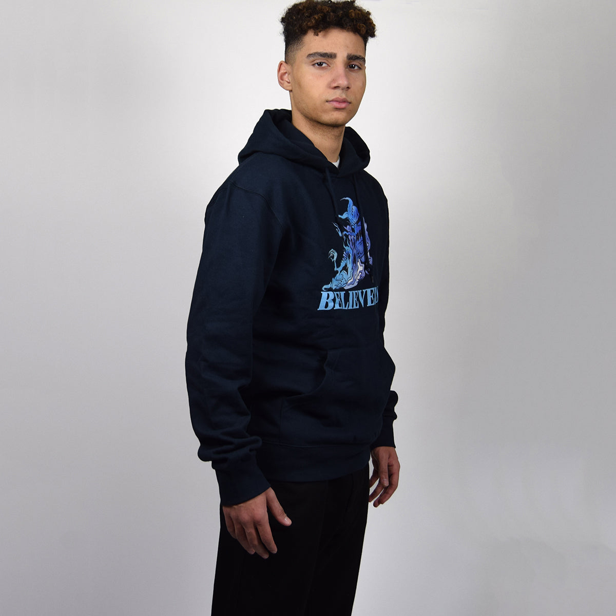 BELIEVERS HOODIE - NAVY