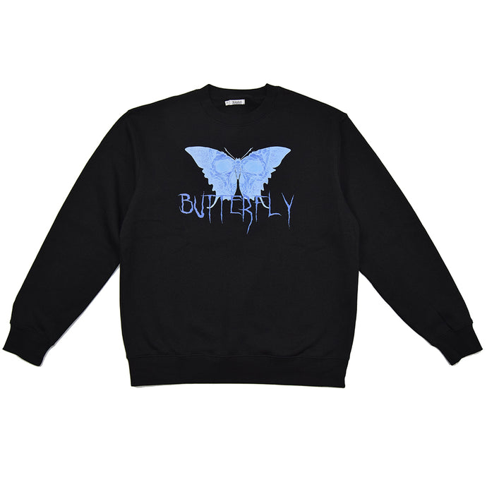 BUTTERFLY SWEATSHIRT - SORT - Jealous Denmark