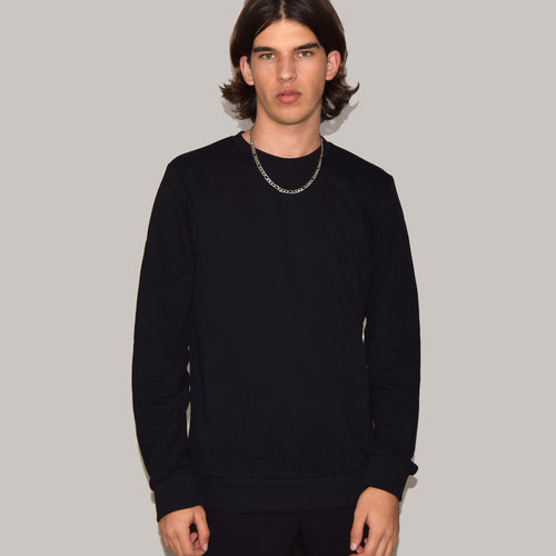 Basic sweatshirt - Sort - Jealous Denmark