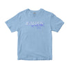 NO MISTAKES T-SHIRT - SKY BLUE - FORUDBESTILLING - Jealous Denmark