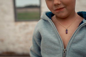 amethyst kids boys & girls - ISHKJEWELS