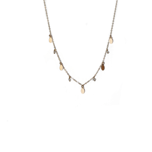 shakti crystal necklace - ISHKJEWELS