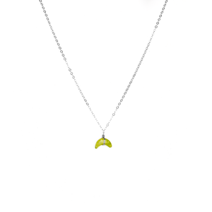 mini moon necklace vasonite - ISHKJEWELS