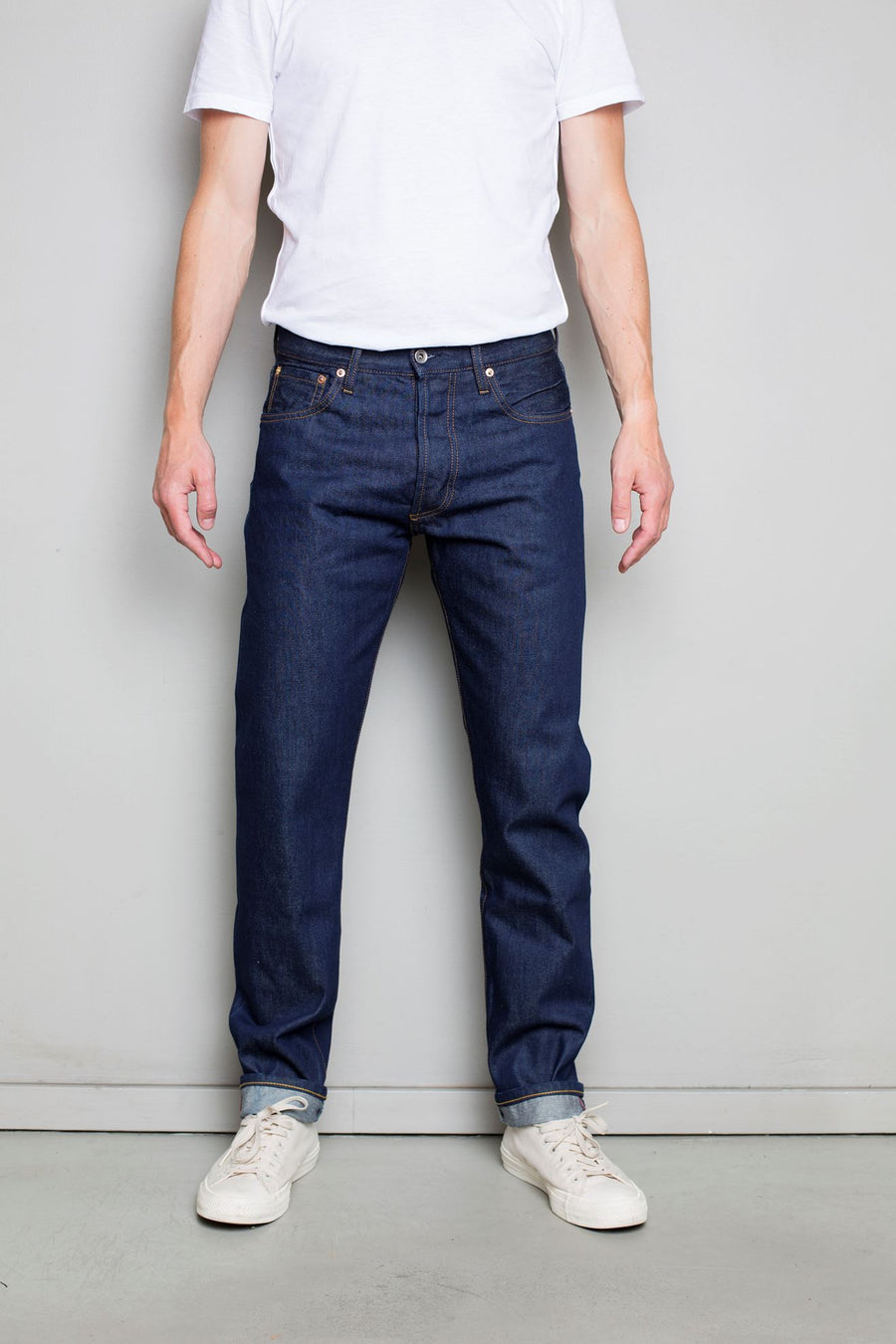 C.O.F. Studio M7 Tapered Selvedge Denim Jean - Rinsed