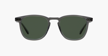 Garrett Leight Brooks Sunglasses Grey Crsytal