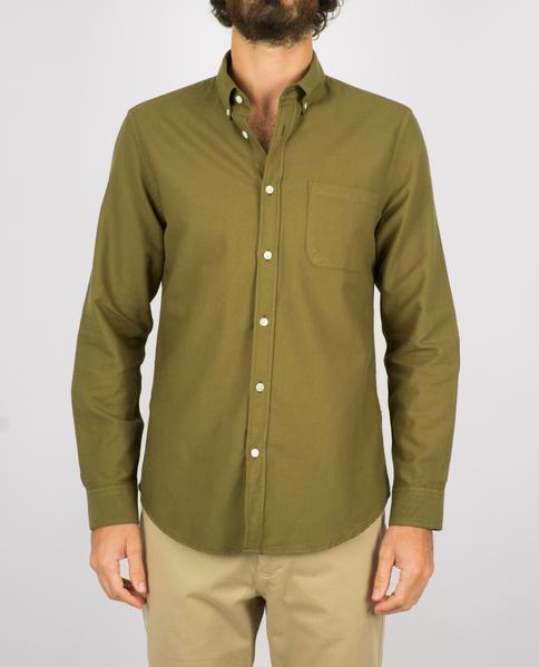 Portuguese Flannel Belavista Oxford Button Down Shirt