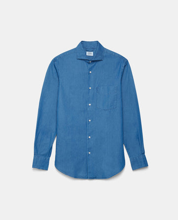 Aspesi SEM 11 Long Sleeve Denim Shirt