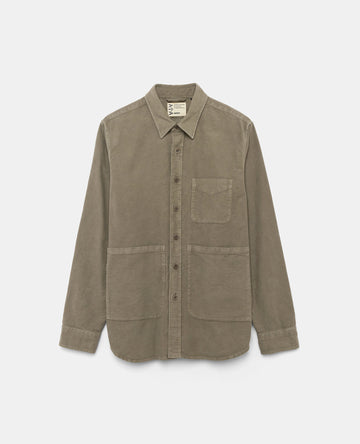 Aspesi UT Cotton Moleskin Overshirt