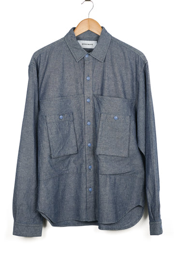 Workware Chambray Patch Shirt