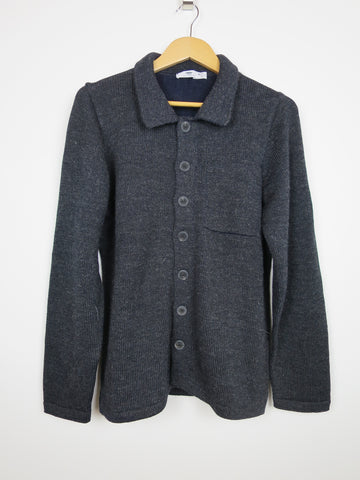 Inis Meain Wool/Alpaca/Silk Shirt Jacket