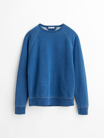 Alex Mill Indigo Dyed French Terry Sweat