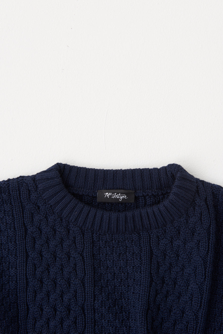 McIntyre 'The Peter' Merino Cable Pullover