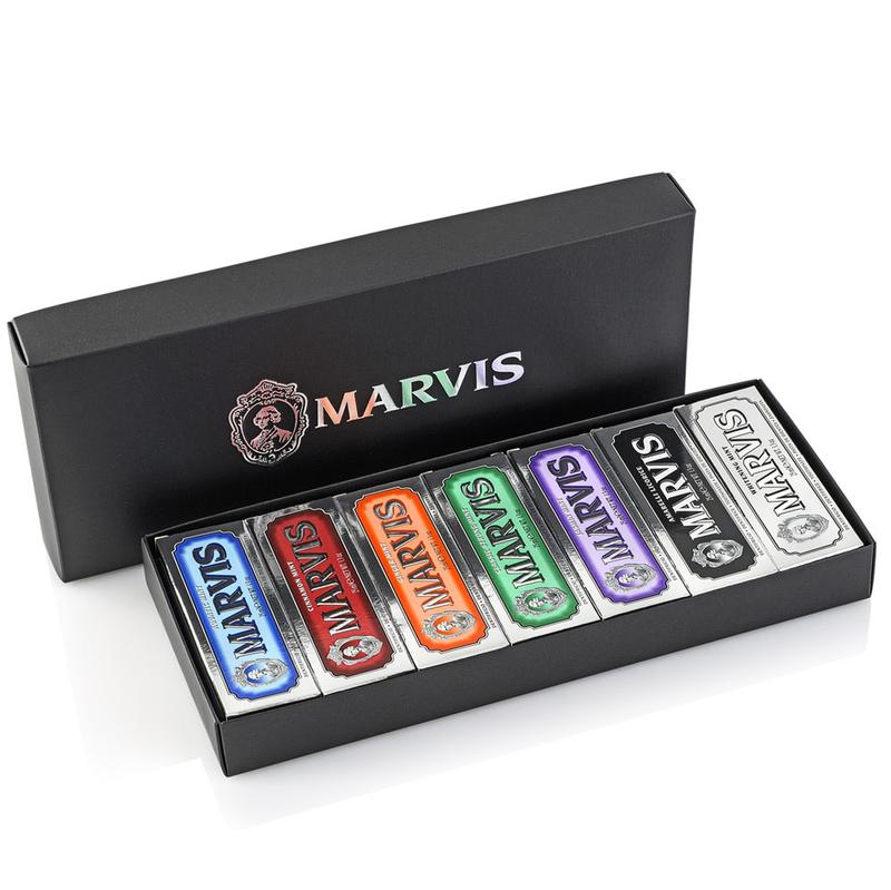 Marvis Toothpaste Collection Black Box Gift Set