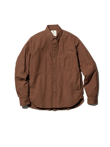 Snow Peak Ultimate Pima Poplin Button Down Shirt