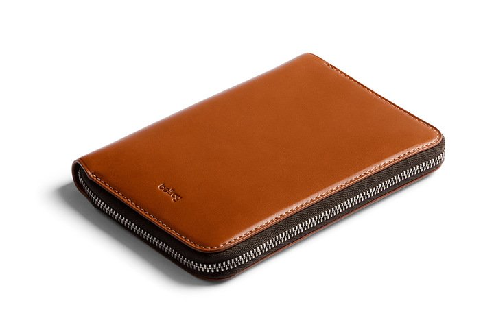 Bellroy Travel Folio Caramel