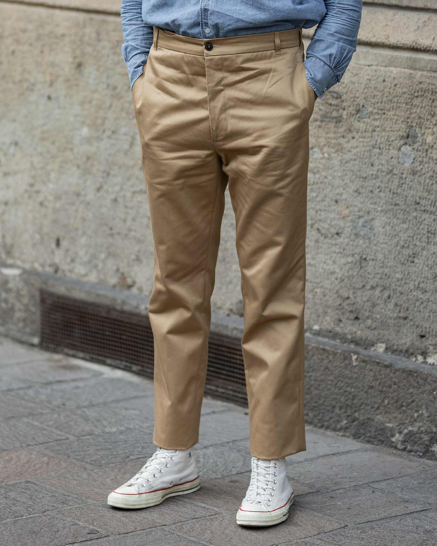 Fortela Gatsby Cotton Twill Trouser