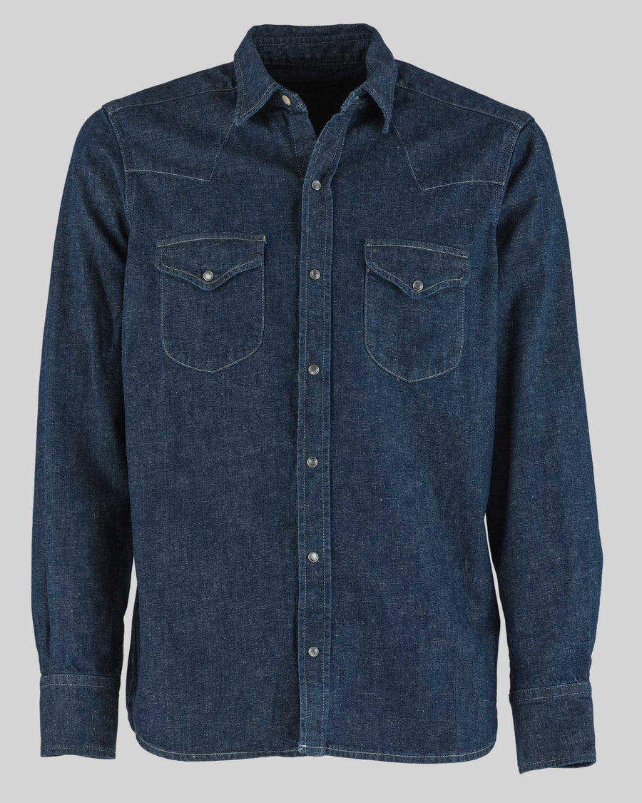 Fortela Texas Denim Western Shirt