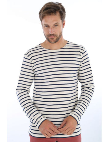 Armorlux Breton Stripe Long Sleeve T-Shirt