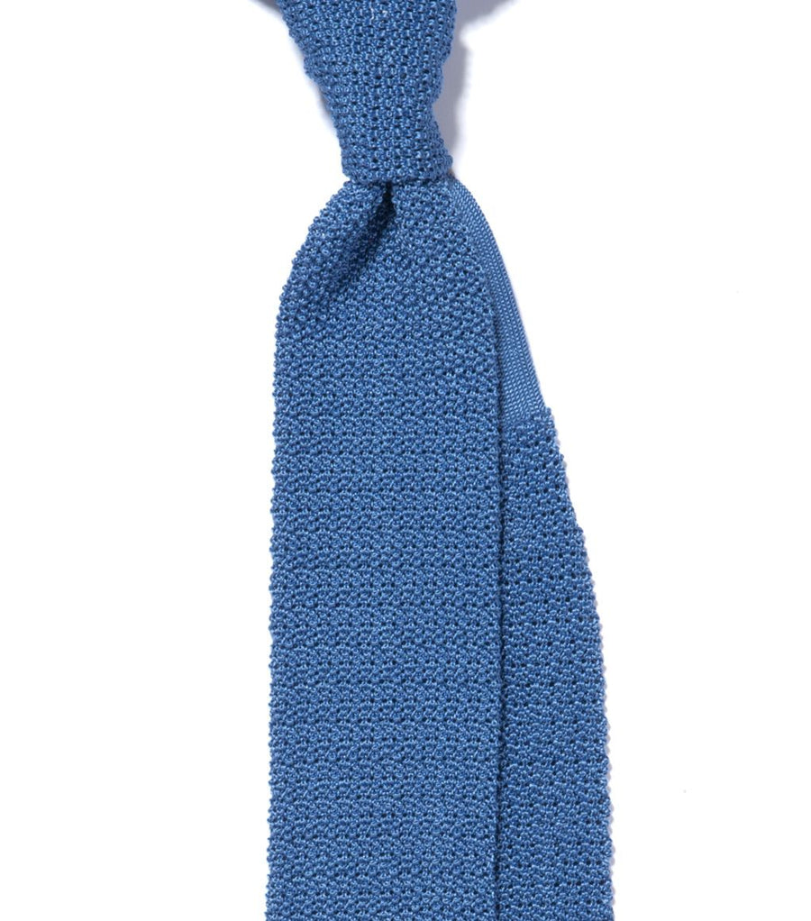 Drake's Solid Knitted Tie
