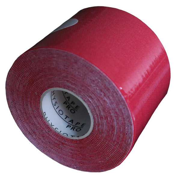 Vendaje Neuromuscular  5 cm x 5 mts Color Rojo