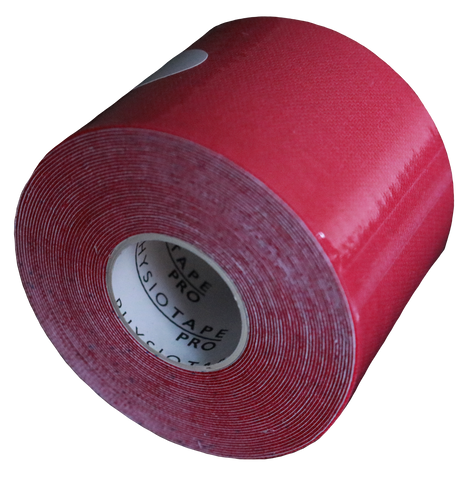 Vendaje Neuromuscular  5 cm x 5 mts Color Rojo (990272454699)