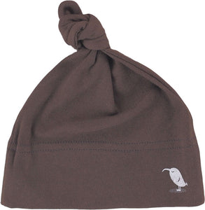 INFANT ORGANIC HAT - Brown