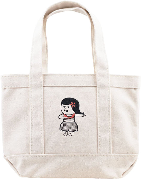 MINI TOTE - HULA GIRL