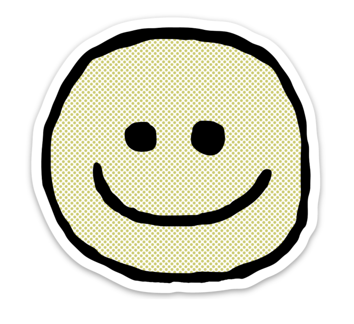 STICKER - HAPPY FACE
