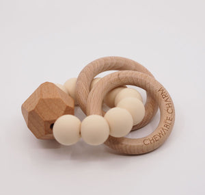 CHEWABLE CHARM  TEETHER - CREAM