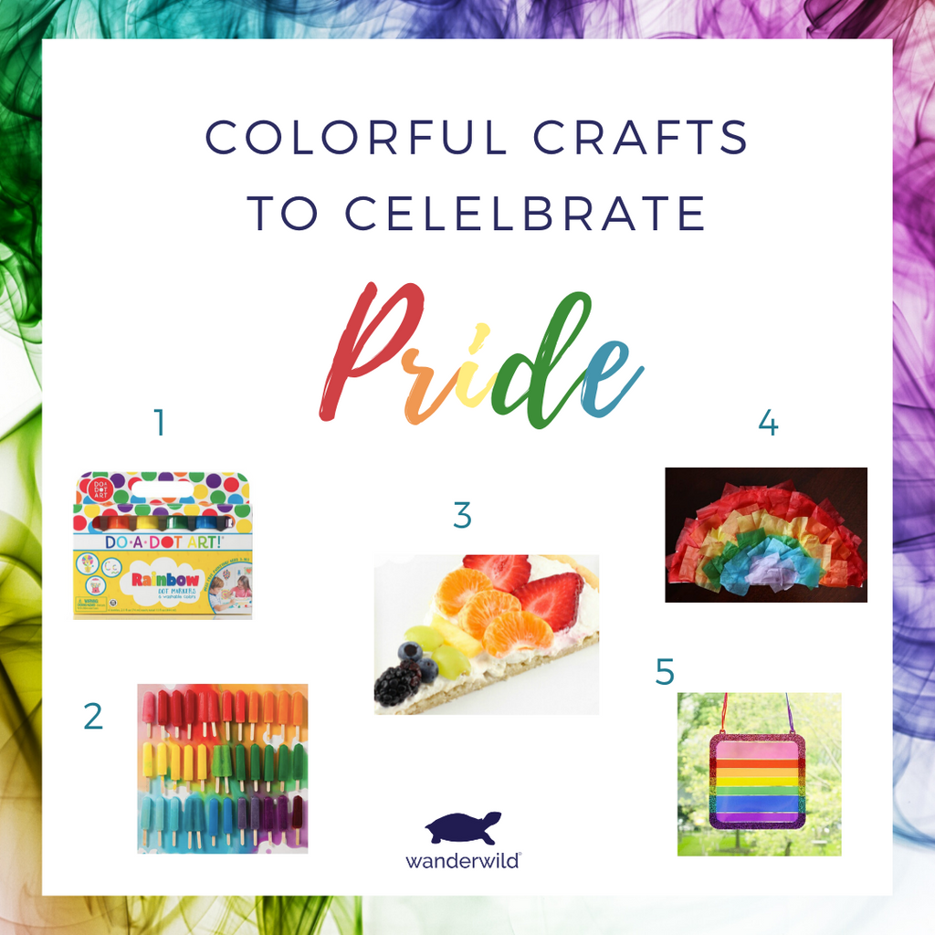 Celebrate Pride With Rainbow Crafts
