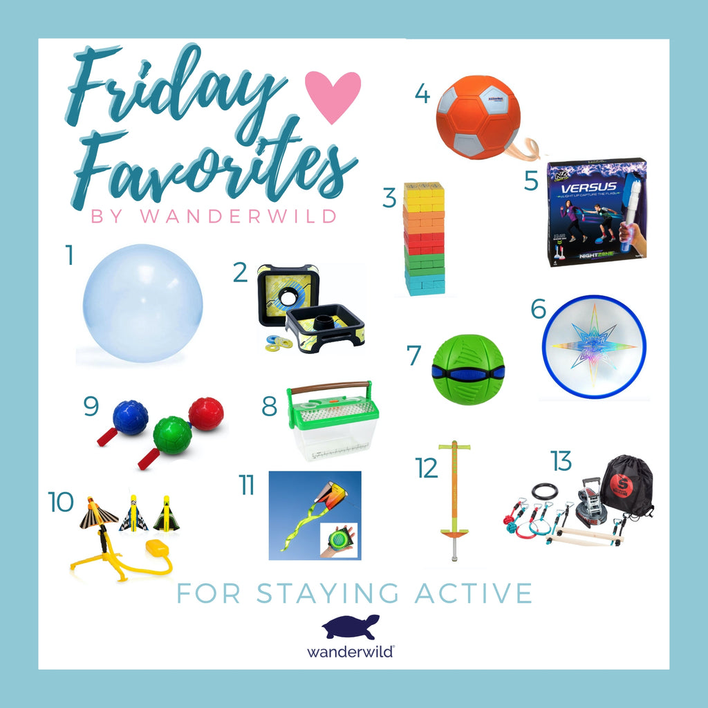 Friday Favorites - Staying Active