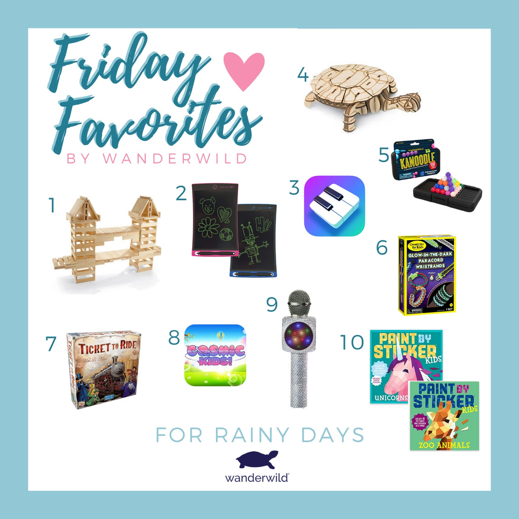 Friday Favorites - For Rainy Days