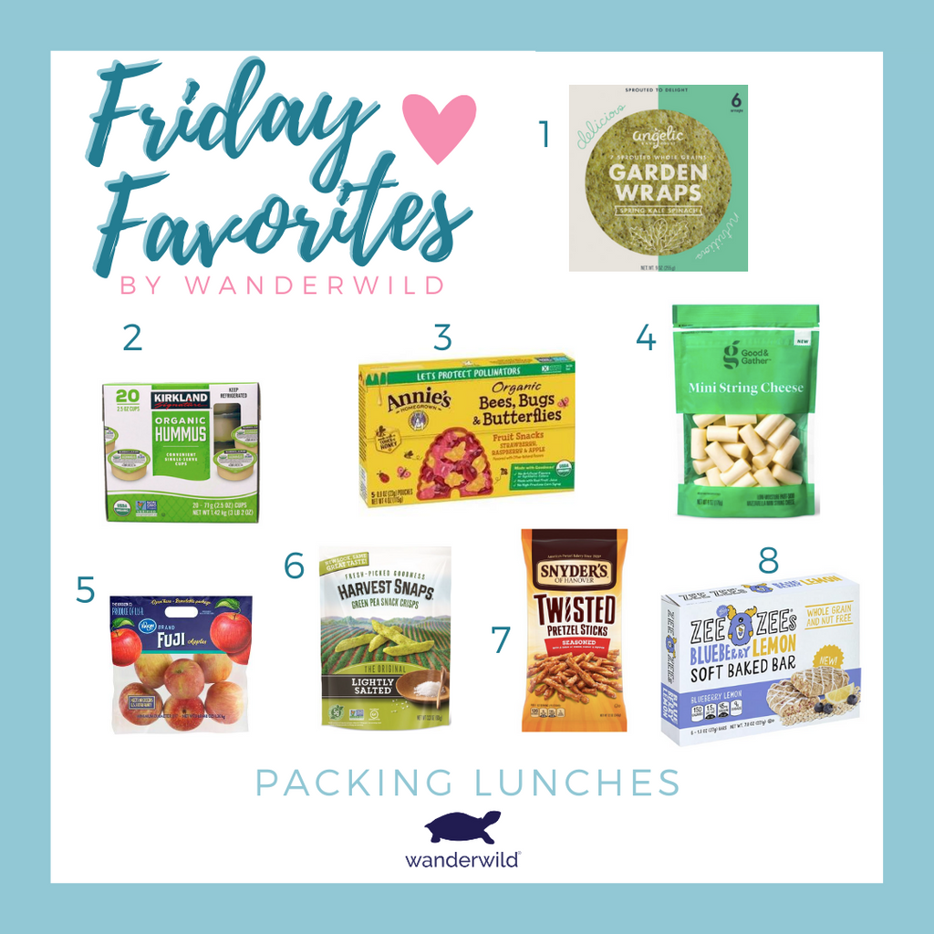 Friday Favorites - Packing Lunches