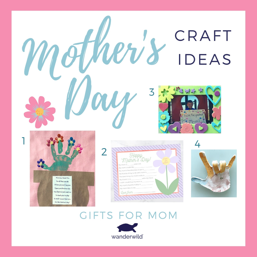 Homemade Gifts for Mother's Day