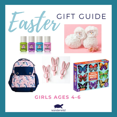Easter Basket Gift Guide Girls Ages 4 to 6